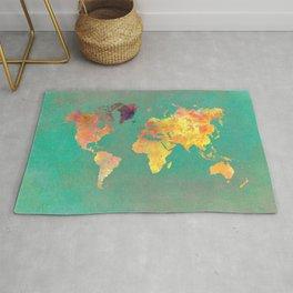 world map 103 #worldmap #map Rug
