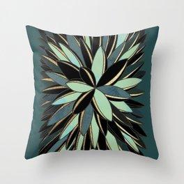 Deco Cactus Green #buyart #homedecor Throw Pillow