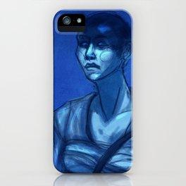 Furiosa in Blue iPhone Case