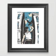 Bad Omens Framed Art Print