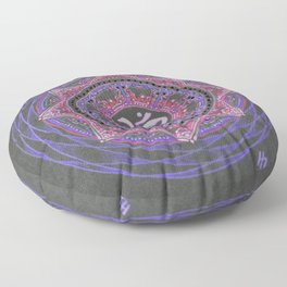 Crown Chakra Floor Pillow