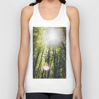 bamboo Tank Tops featuring Bamboo by Warren Silveira + Stay Rustic