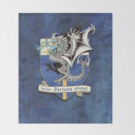 fortis fortuna adiuvat Throw Blanket
