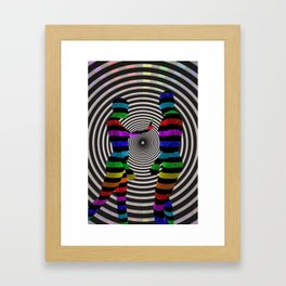 Dissension-3D Art Framed Art Print