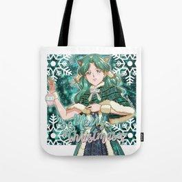 Merry Xmas Michiru! Tote Bag