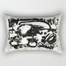 Saint With Bird Rectangular Pillow