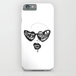 Save Me Your Heart iPhone Case