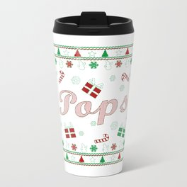Pops Christmas Travel Mug