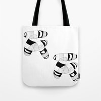 pills Tote Bags featuring pills by Dream of Siberia