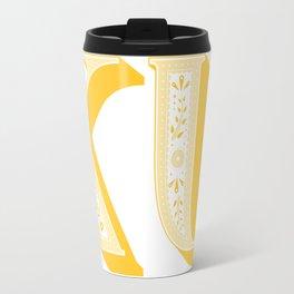 KU Paisley Travel Mug