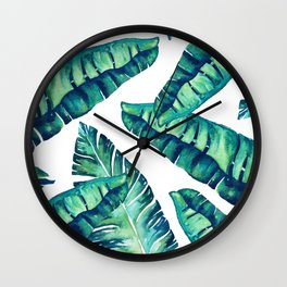Tropical Glam #society6 #decor #buyart Wall Clock