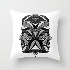 Signs of the Zodiac - Gemini Throw Pillow