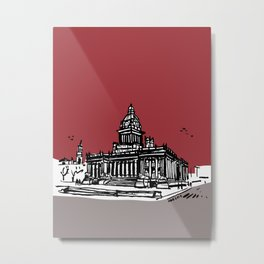Leeds Town Hall Metal Print