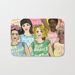 Together we are stronger Bath Mat