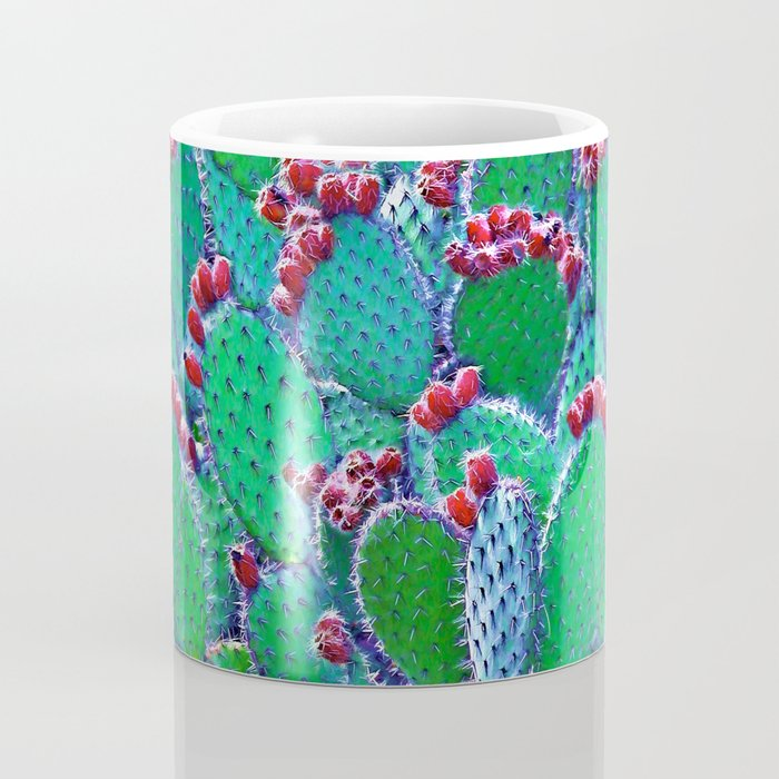 Flowering cacti Coffee Mug
