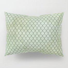 Mermaid Tail Pattern Pillow Sham