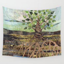 Deep Roots Wall Tapestry