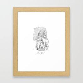Antoni Gaudi Framed Art Print