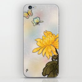 Butterflies are Free iPhone Skin