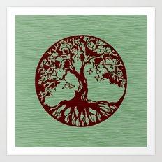 Tree of Life 3 Art Print