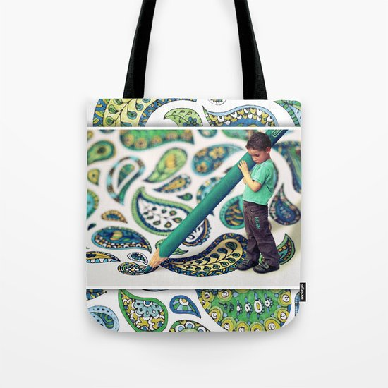 Adding the Finishing Touches ...  Tote Bag