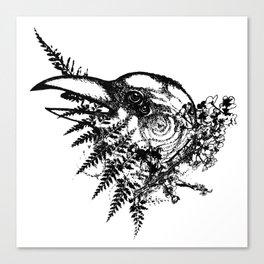 Bird Brain Canvas Print