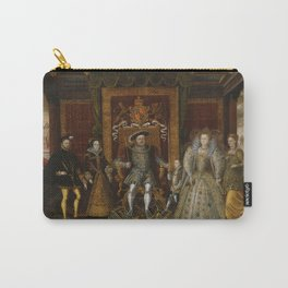 The family of Henry VIII Carry-All Pouch