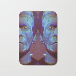 Frankenstein's Monster, Frankenstein, Monster Painting, Dark Art, Boris Karloff, Modern Prometheus Bath Mat