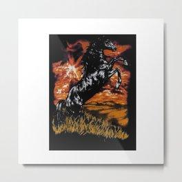 Charlie Horse Metal Print