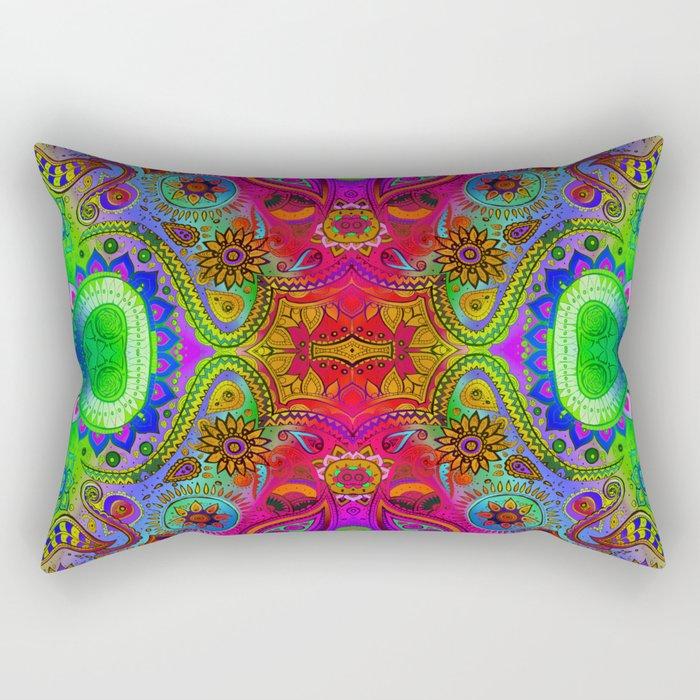 Seed 2 the Soul/ Worn Rectangular Pillow