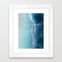 Turquoise Sea Framed Art Print