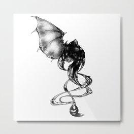 Born of ink Metal Print