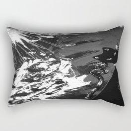 Black Cat Storm Rectangular Pillow