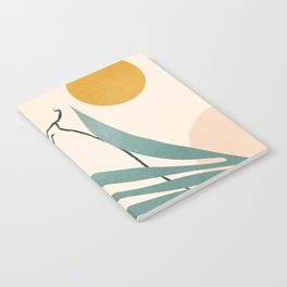 Minimal Line in Nature III Notebook