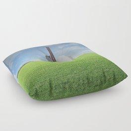 atmosphere 68 · Egg Factory Floor Pillow