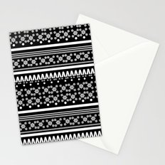 Christmas Jumper Black Stationery Cards