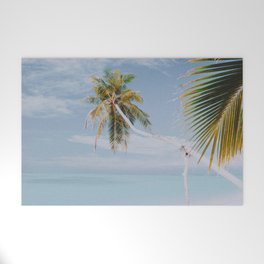a palm tree vii Welcome Mat