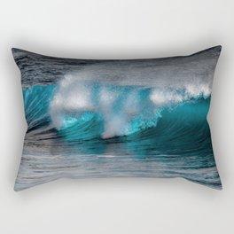 Wave Series Photograph No. 11 - The Most Beautiful Wave Rectangular Pillow