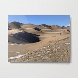 Colorado Sand Dunes Metal Print