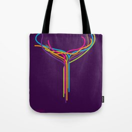 SF Against Stupidity* | Lines Tote Bag