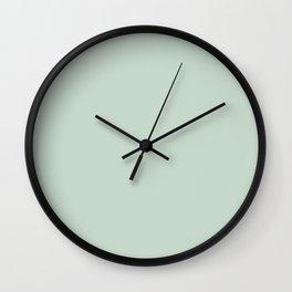 Stylish grey and light green. Wall Clock