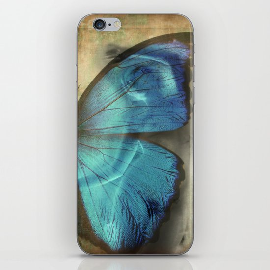 Lady Butterfly  iPhone & iPod Skin