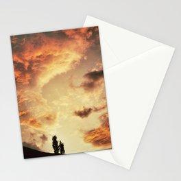 Coucher de soleil sur les Pyrénées Stationery Cards
