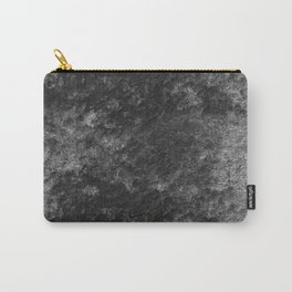 Charcoal skies velvet Carry-All Pouch