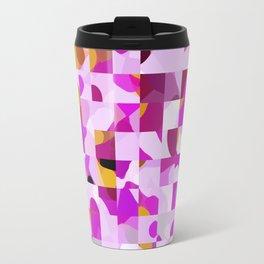 Crazy Squares Travel Mug