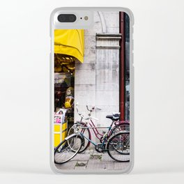 Bikes and shop Clear iPhone Case