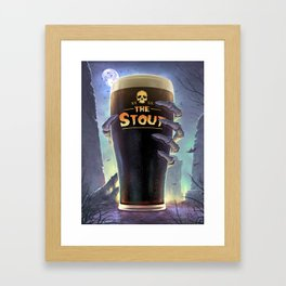 Return of The Stout Framed Art Print