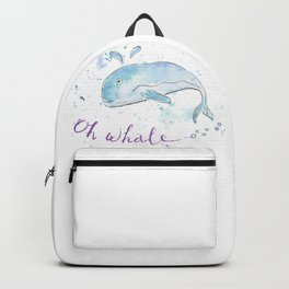 Oh whale Backpack