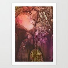 Stem 001. Art Print