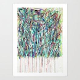 Meadows (Self- Portrait) Art Print